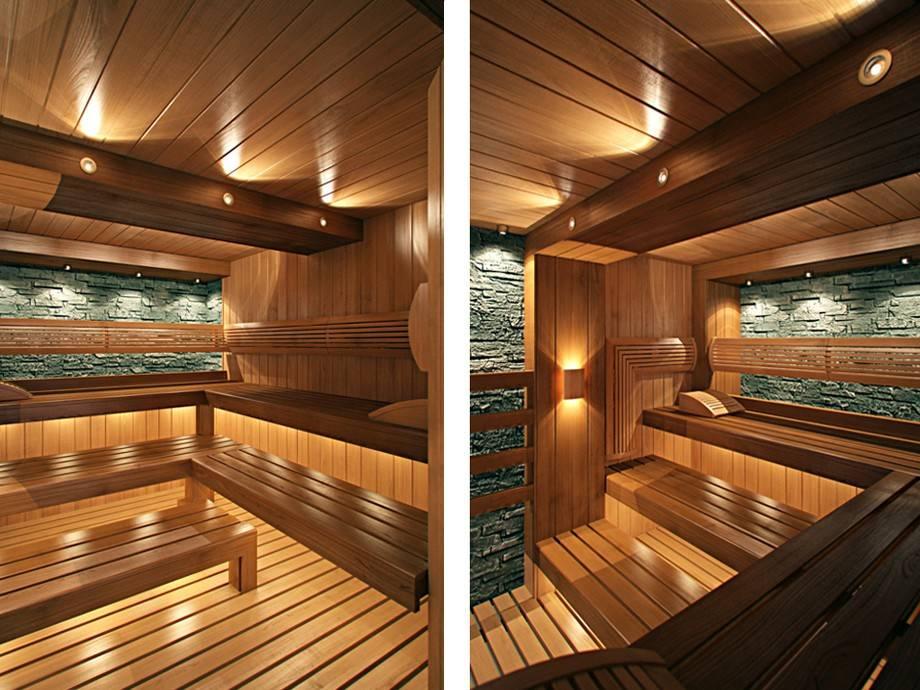 Дизайн интерьера бани