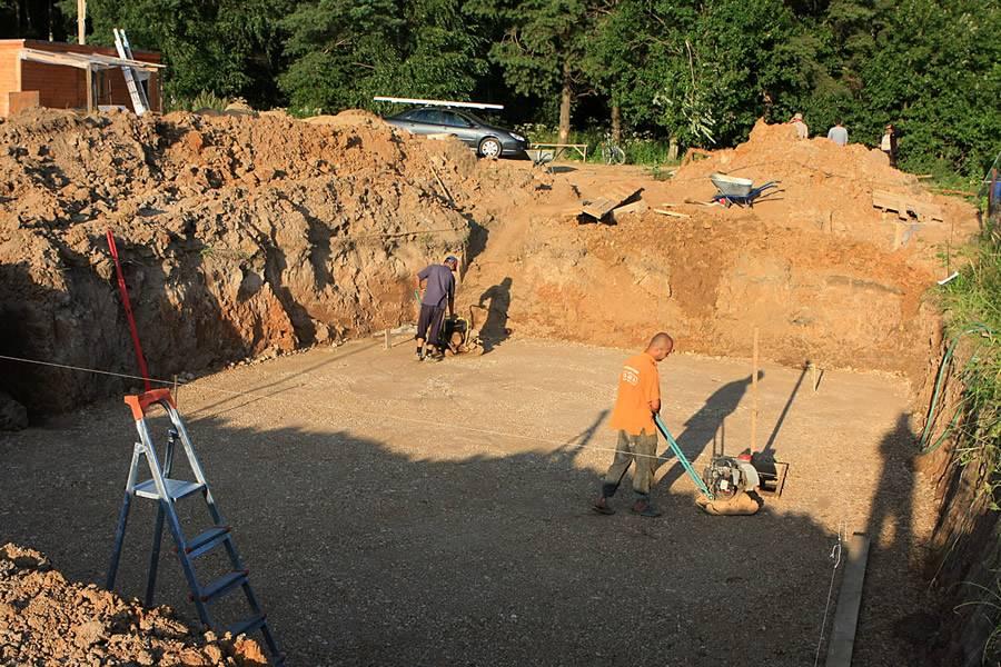 Какой песок нужен для фундамента - выбираем песок для фундамента