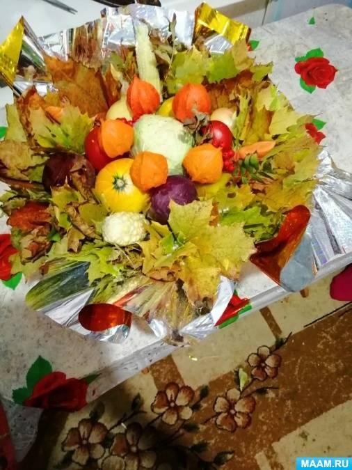 Осенний букет. композиции своими руками из листьев, природного материала, страница 11
