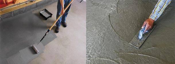 Правильное железнение бетона цементом