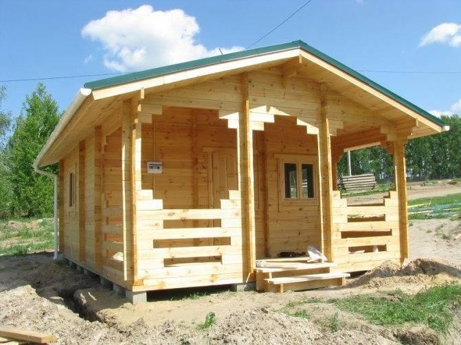 Как правильно построить баню от фундамента до крыши