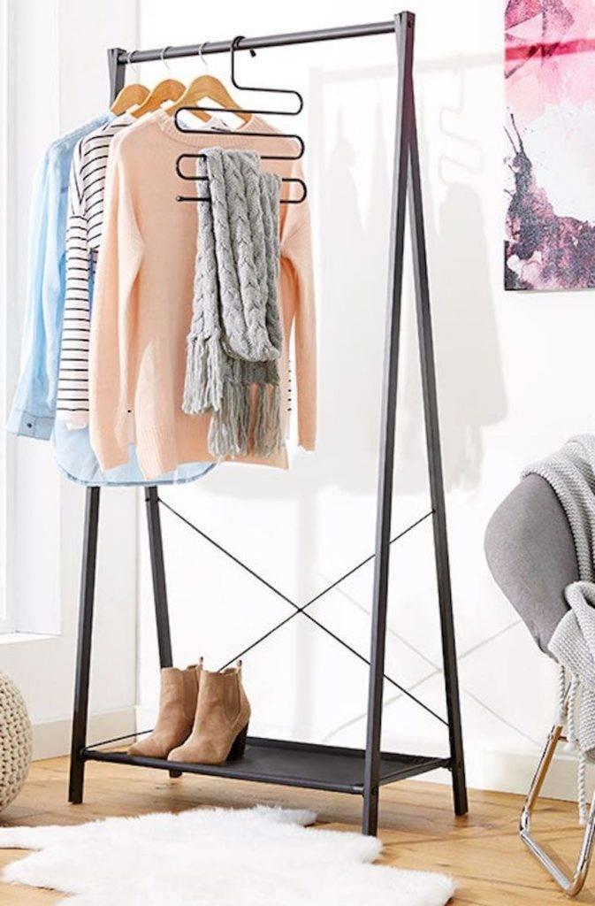 Как хранить одежду без шкафа - 5 способов – дизайн и дом