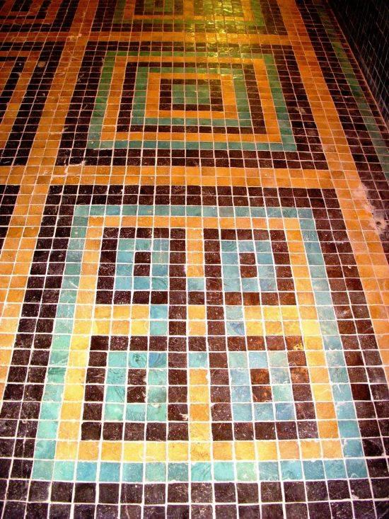 Мозаичные полы: инструкция по монтажу