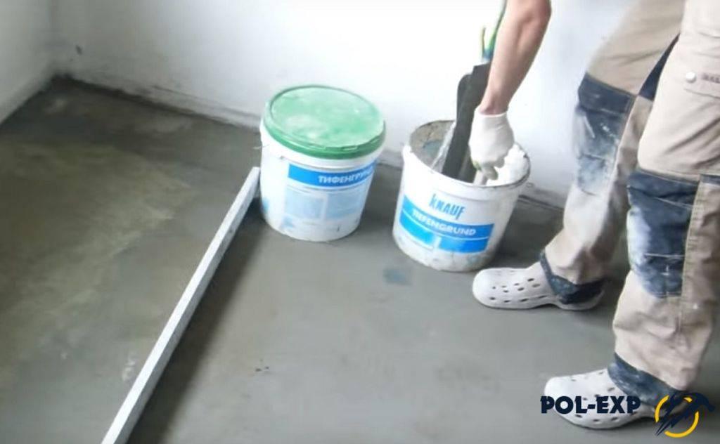 Как железнить бетон, правильно зажелезнить бетонный пол и дорожки цементом