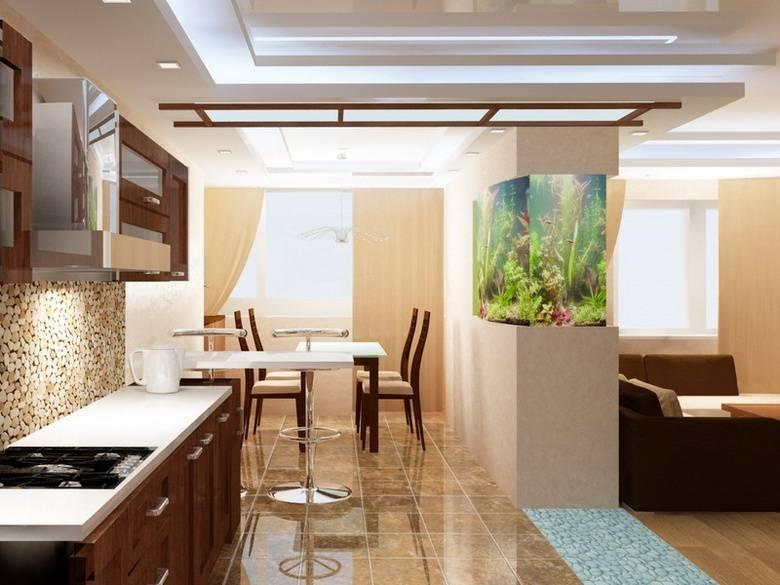 Кухня-гостиная: секреты удачного дизайна и обустройства