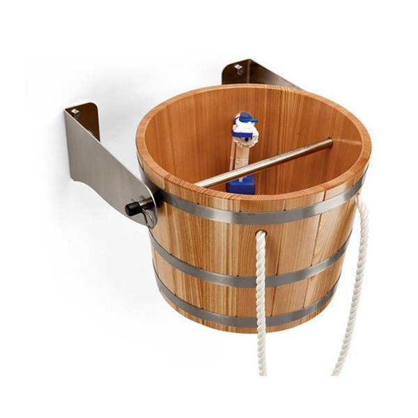 Обливное устройство для бани: преимущества недостатки. монтаж обливного ведра для бани | построить баню ру