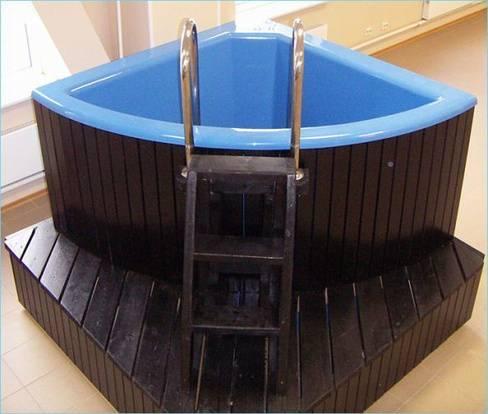 Купель для бани своими руками: деревянная, бетонная и из пластика
