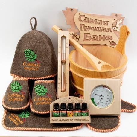 Подарки для бани: советы по выбору сувениров и наборов любителю сауны на день рождения и другие праздники. как оригинально упаковать веник?