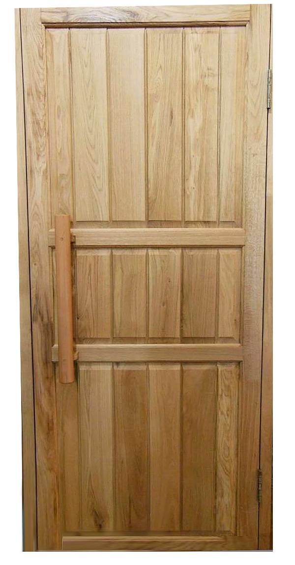 Стеклянные двери в парную