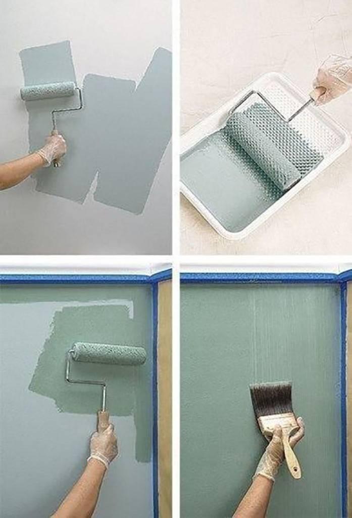 Декоративная покраска стен: 5 интересных приемов и виды красок