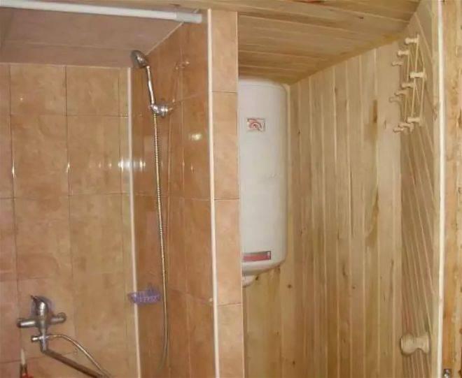 Летний душ с раздевалкой своими руками: чертежи и размеры