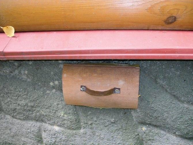 Отдушины в фундаменте деревянного дома: особенности, необходимость и установка
