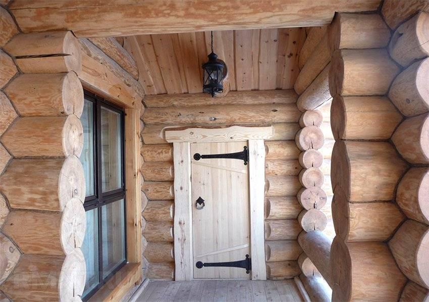 Устройство и монтаж окосячки оконного проема в деревянном доме