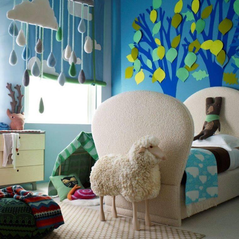 Интерьер детской комнаты – оформление, дизайн