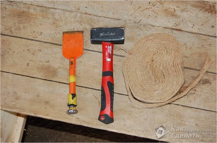 Чем и как конопатить сруб дома. применяемые материалы и технологии.