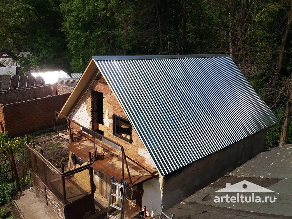 Чем покрыть крышу на даче: чем лучше перекрыть, дешевле, кровля навеса на даче