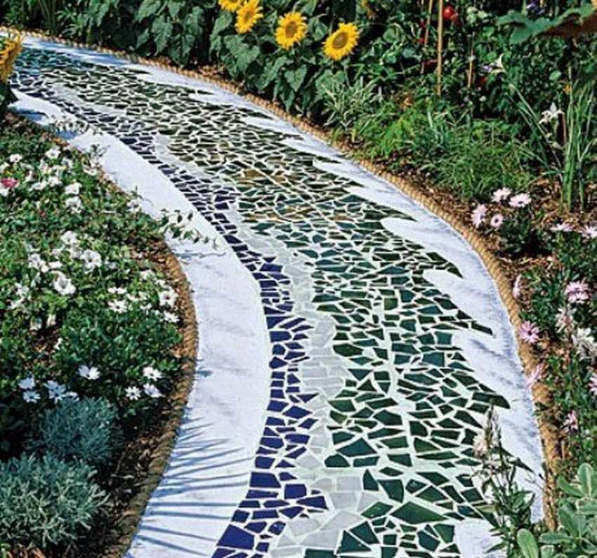 Садовые дорожки своими руками: идеи от ведущих ландшафтных дизайнеров (125 фото и видео)
