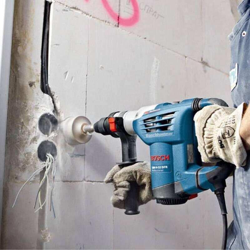 Как и чем штробить бетонную стену