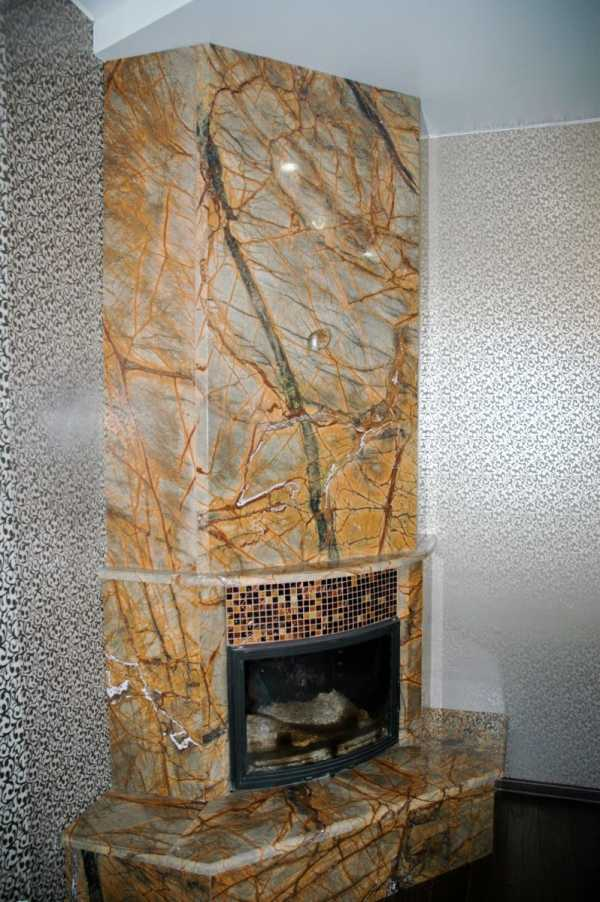 Варианты отделки печей и каминов в доме: плитка, камень или кирпич?