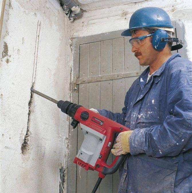 Как проштробить стены под проводку и розетки - несущие стены и штроба, снип и расстояния