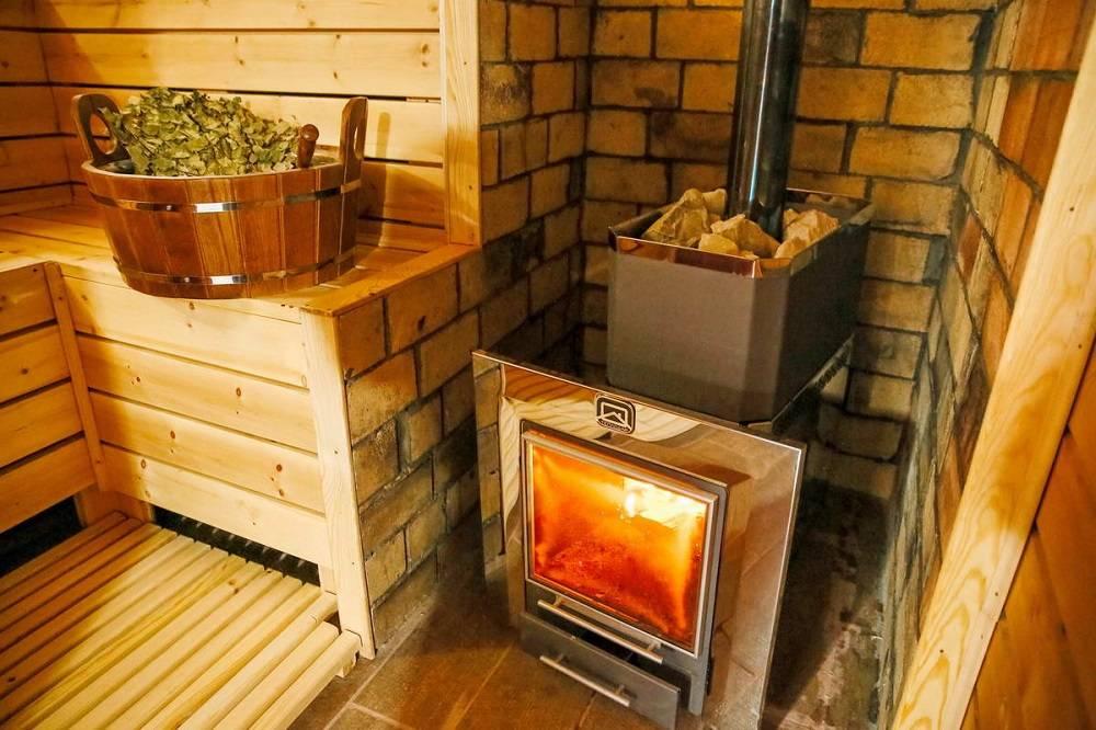 Финские печи для бани на дровах: особенности и виды