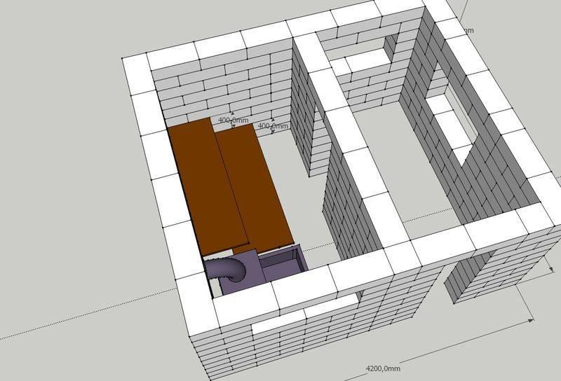 Баня из кирпича (77 фото): плюсы и минусы кирпичной конструкции, печи своими руками - пошаговая инструкция, проекты печей каменок