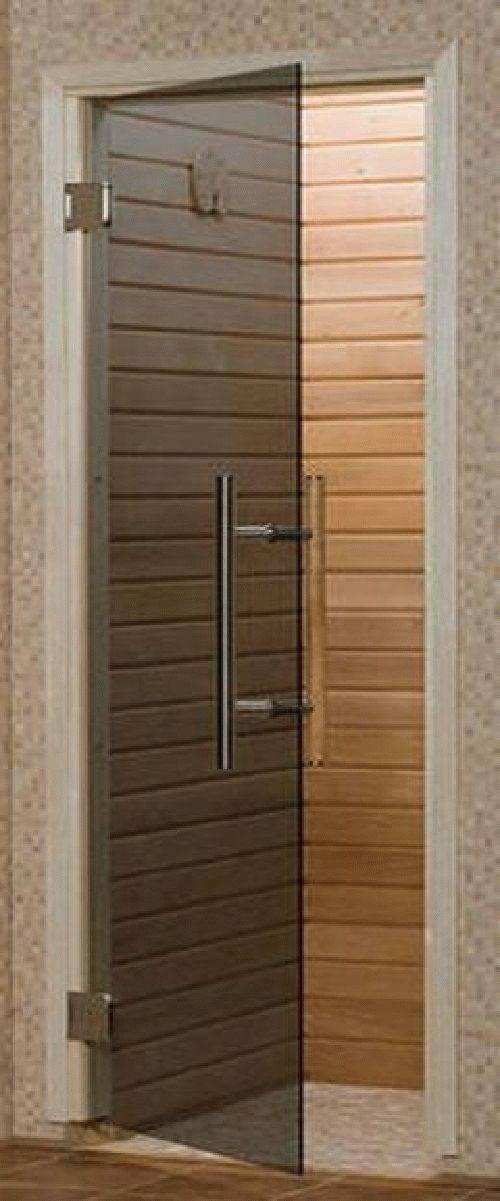 Русская парная: стеклянные двери для бани — стоит ставить или нет?