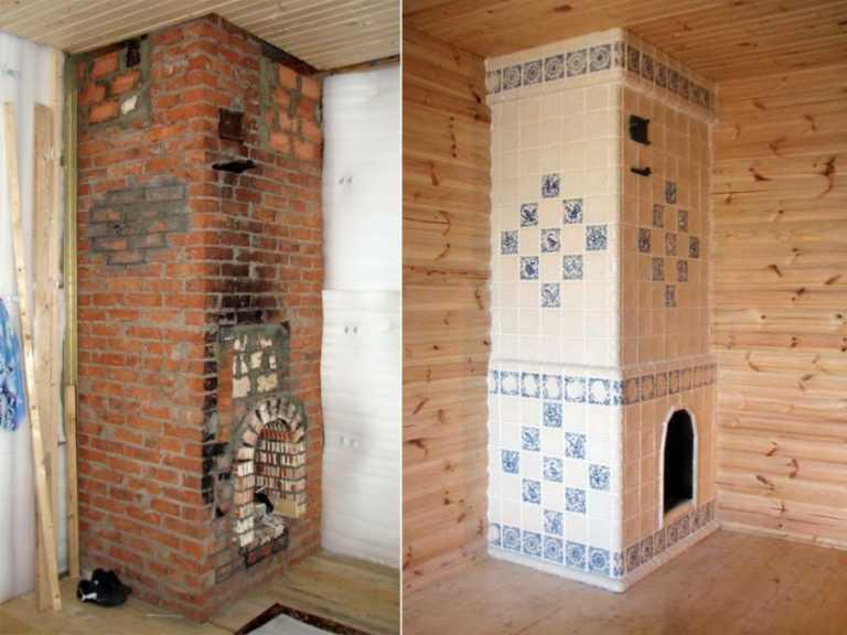 Терракотовая плитка (терракота) для печей и каминов: инструкция по применению