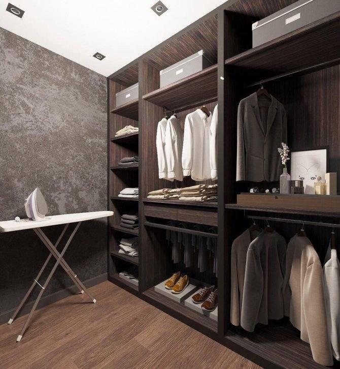 Гардеробная комната: виды, где разместить, планировка, дизайн
