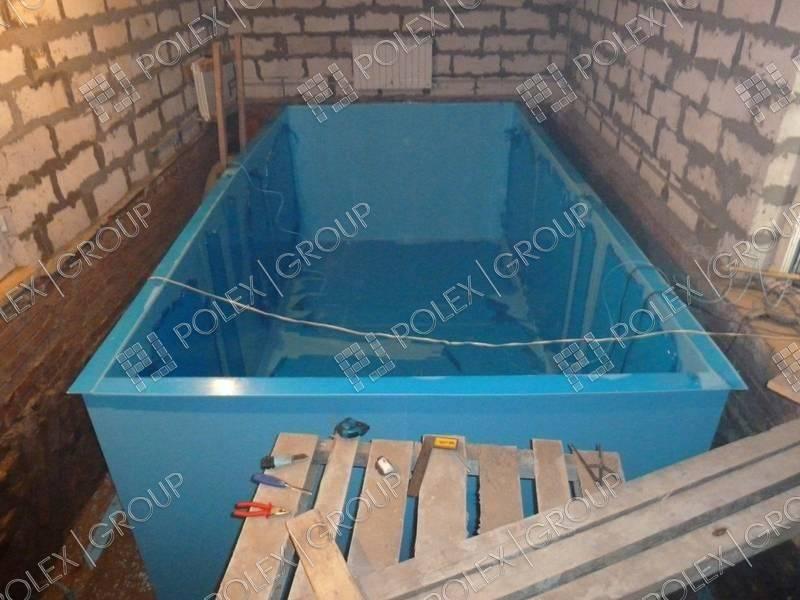 Как сделать бассейн в бане? пошаговая инструкция   построить баню ру