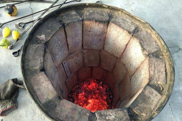 Как сделать тандыр из глины своими руками