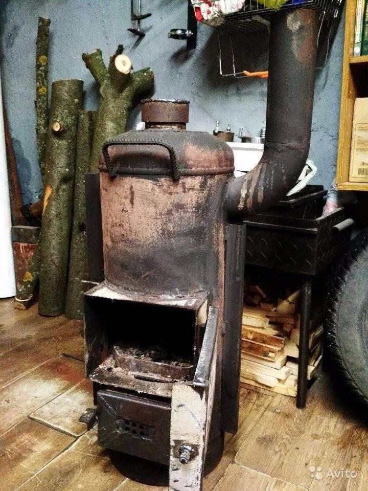 Как правильно установить печь-буржуйку в садовом домике ☛ советы строителей на domostr0y.ru