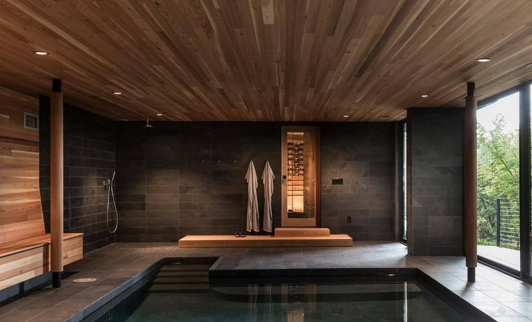 Интерьер бани: идеи дизайна, примеры современного и красивого оформления + фото