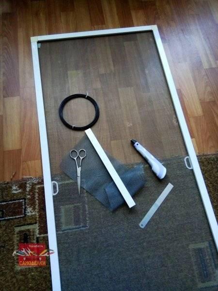 Инструкция по установке москитной сетки на различные виды окон (25 фото)