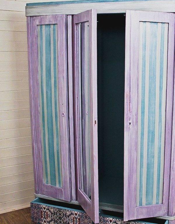 Как обновить старый шкаф. обновление шкафа своими руками