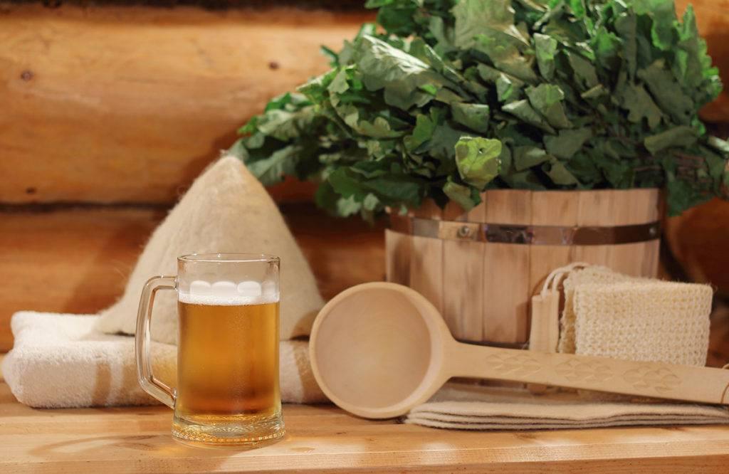 Пиво в бане - пить или не пить?