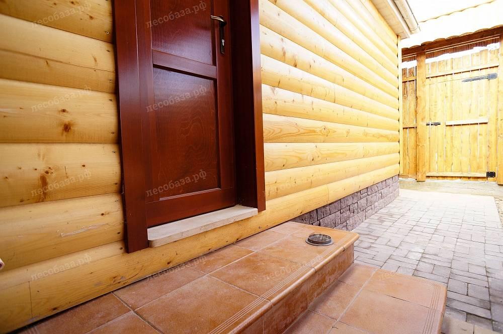 Чем обшить баню снаружи: вагонка, имитация бруса, сайдинг, блок-хаус
