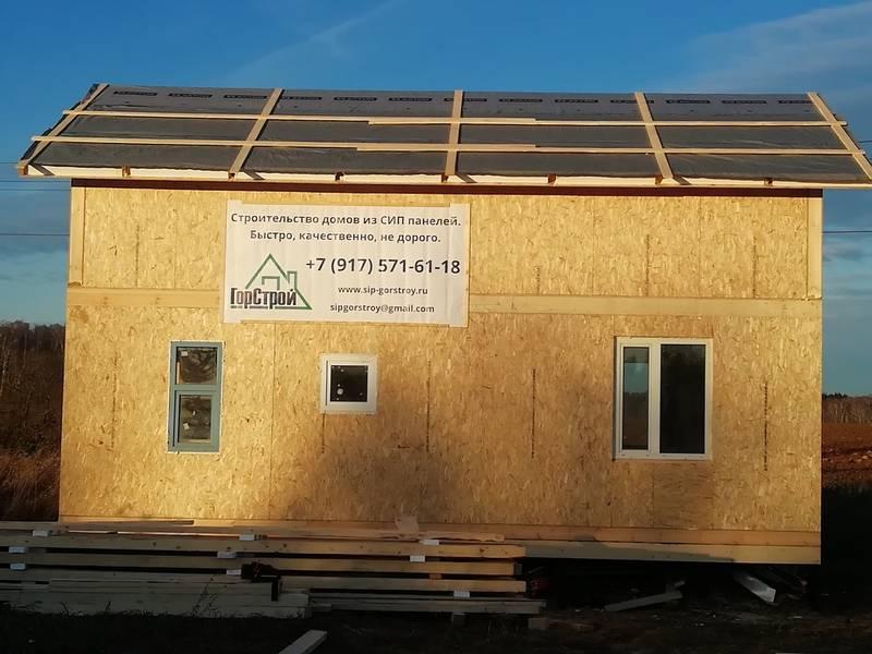 Сами строим дом из сип-панелей: весь процесс работы