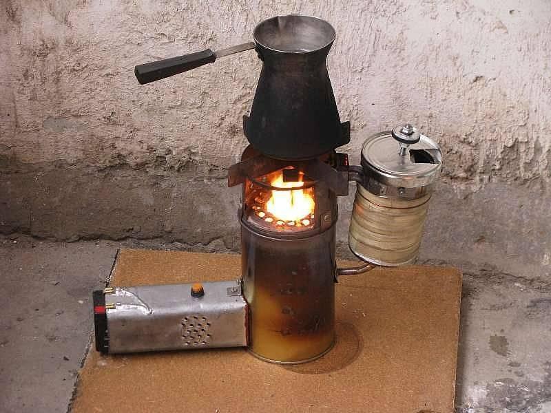 Чудо-печь на солярке