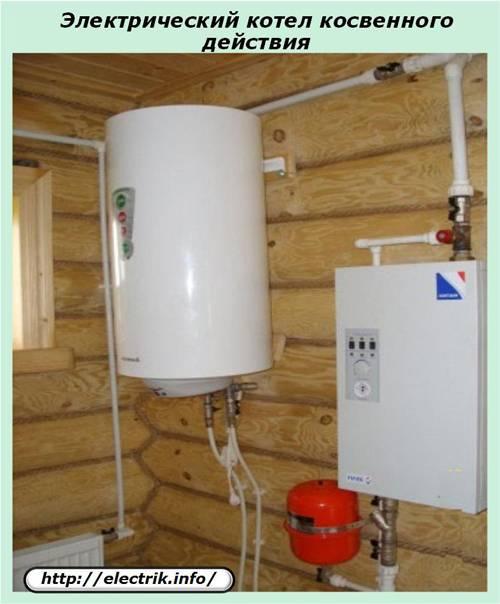 Электрический котел для бани: особенности установки