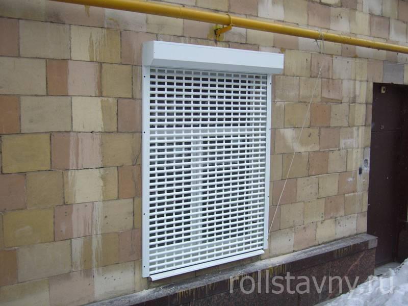 Рольставни на окна, плюсы и минусы установки рольставней на окна, конструкции рольставней