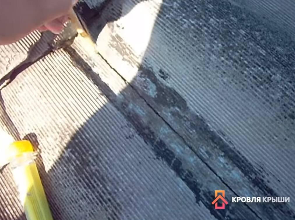 Чем заделать трещину в шифере на крыше? лучший вариантстройкод