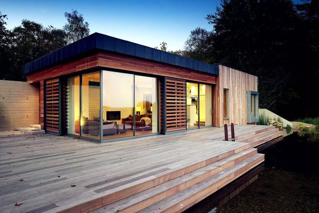 Дома в стиле хай тек: фото современных интерьеров