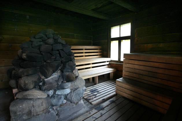 Русская баня по-черному своими руками: как построить печь и где взять проект?