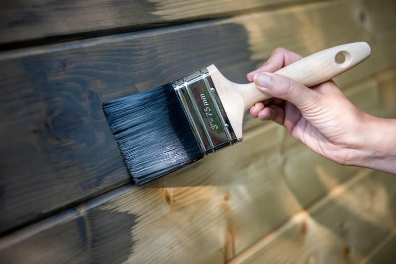 Различные способы окраски изделий под дерево