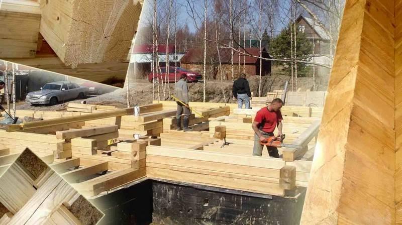 Строительство бани из бруса — особенности и технологии