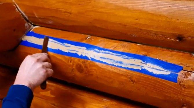 Трещины в брёвнах сруба: причины появления, профилактика и материалы для заделки