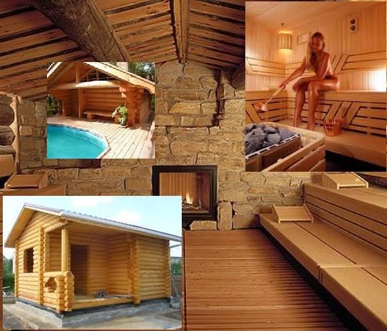 Проект бани с бассейном и комнатой отдыха под одной крышей, как сделать своими руками