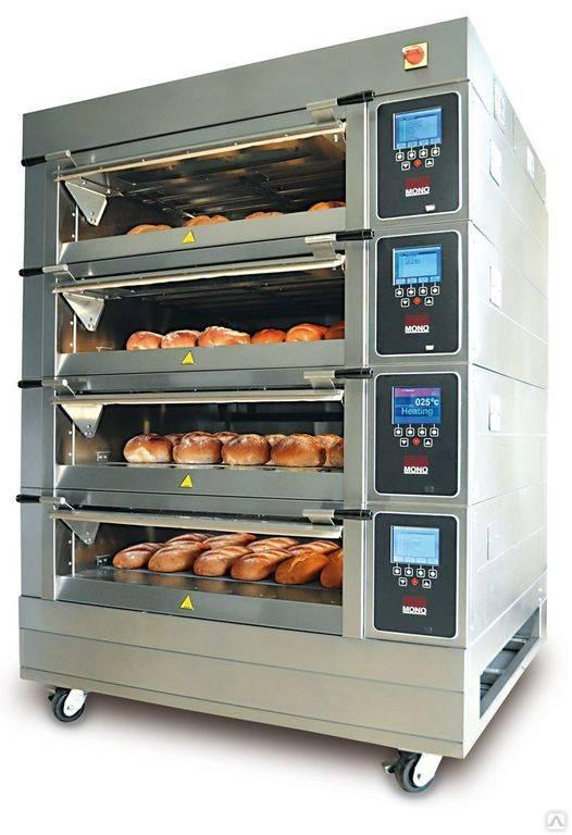 Кондитерская печь: особенности, виды, характеристики, цены