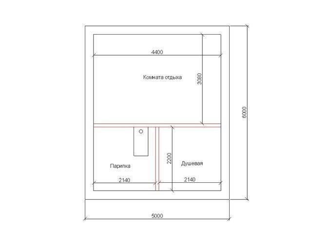 Проекты бань из керамзитобетонных блоков: свойства материала, варианты планировки и особенности строительства